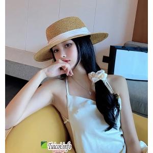 Mũ cói Panama Gaucho loại 1 hàng đẹp đóng hộp to không bị hỏng form