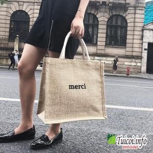 Túi merci - túi vải bố giá sỉ