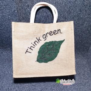 Túi cói think green