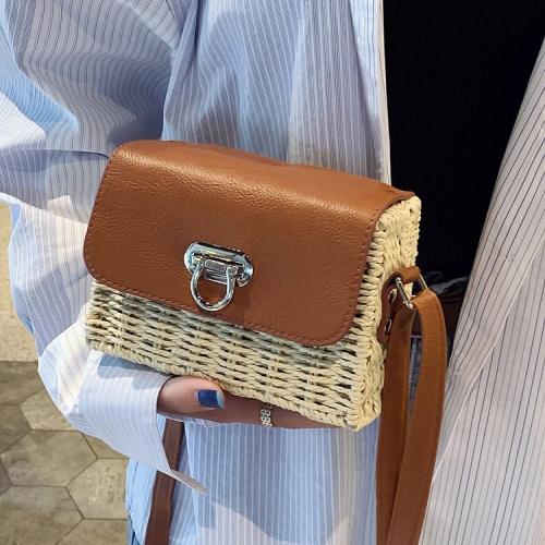 Túi cói hộp hình thang nhỏ